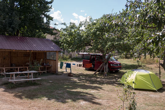 Swamland Camping in Mestia