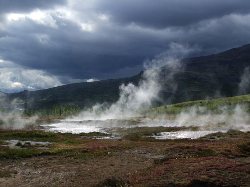 Heiße Quellen Island