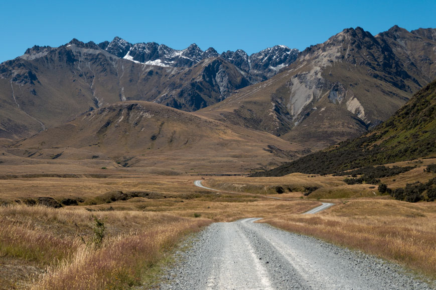 Around the Mountains Cycle Trail zwischen Lake Wakatipu und Mavora Lakes
