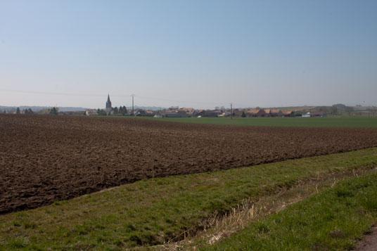 Paneuropa-radweg  Abschnitt Gondrexange